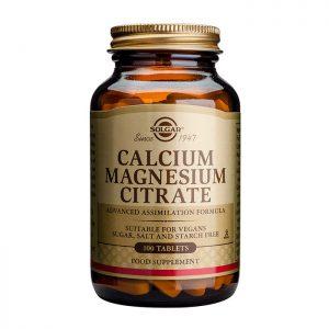 Solgar Calcium Magnesium Citrate  100 tabs