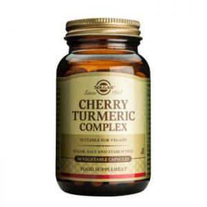 Solgar Cherry Turmeric Complex  60 vcaps