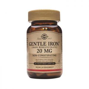 Solgar Gentle Iron 20mg  90 vcaps