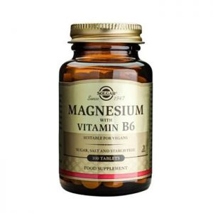 Solgar Magnesium with Vitamin B6  100 tabs