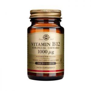Solgar Vitamin B12 1000mcg  100 nuggets