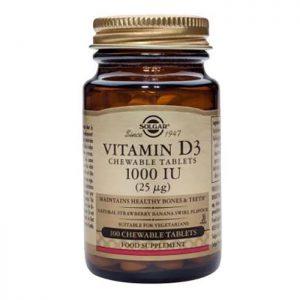 Solgar Vitamin D3  1000iu  100 sftgels