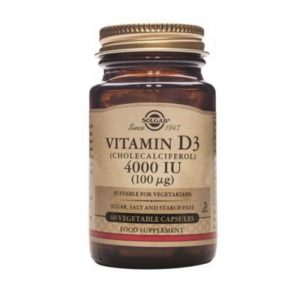 Solgar Vitamin D3 4000IU 60 caps