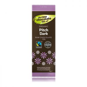The Raw Chocolate Company Organic Pitch Dark 44g