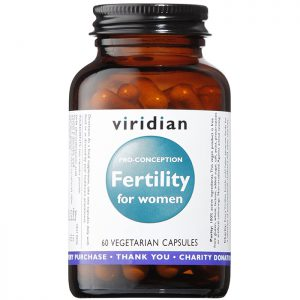 Viridian Fertility for Women  60 veg caps