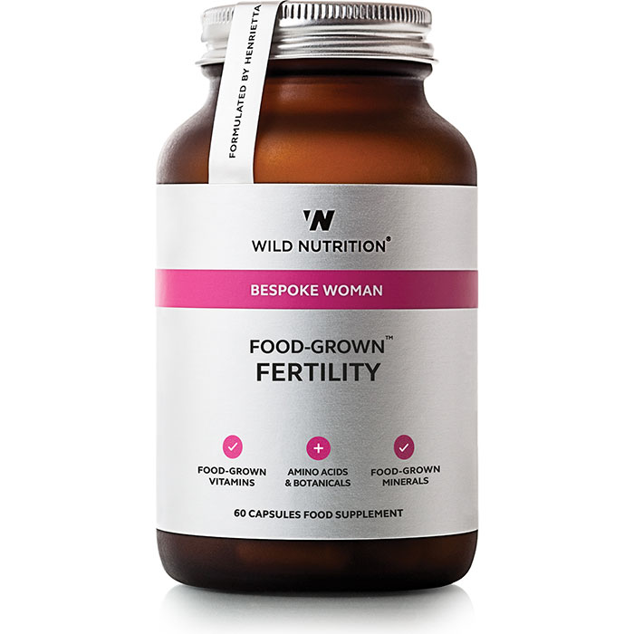 Wild Nutrition Food-State Fertility-Woman 60 Capsules