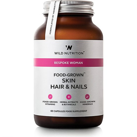 Wild Nutrition Food-State Skin Hair Nails 60 Capsules