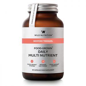 Wild Nutrition Teen Girl Daily Multi Nutrient
