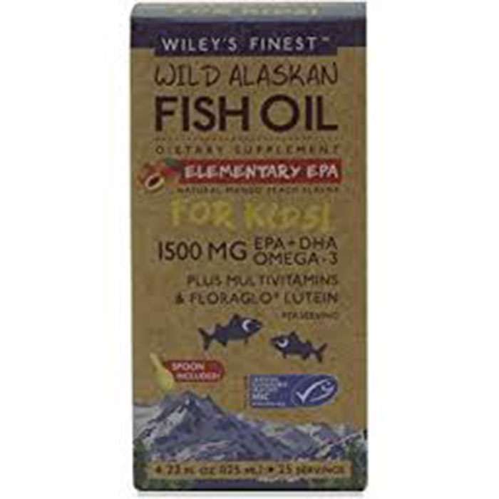 Wiley's Elementary EPA for Kids 125ml